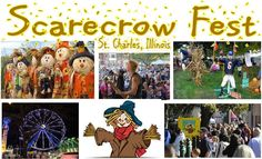 Scarecrow Festival in St. Charles began in 1985 with a few contest entries, and has since grown to a nationally recognized festival attracting over 100, 000 over a three day weekend! Join us Sunday, October 8 as we experience this awesome fest ourselves! Bus leaves at 9am. Residents $7/Non-Residents $12.
