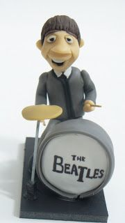 "PORCELANA FRIA: ""The beatles "" en porcelana fria"