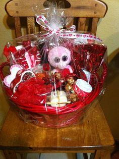Valentine Basket raffled for CDO Spiritline fundraiser