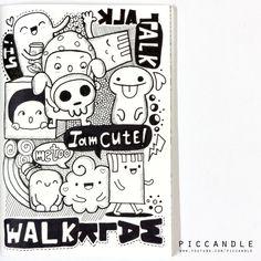 Doodle - Walk Walk Talk Talk by PicCandle.deviantart.com on @DeviantArt