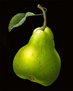 Pear with Leaf by Susannah Blaxill