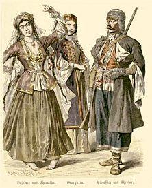 Tatars, part of the Russian Muslim population.