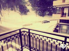 #snow #in_Greece_Didimoticho