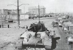 T-34 fuori uso a Kharkov