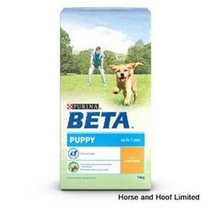 Beta Puppy with Chicken 14kg Beta Puppy with Chicken provides young dogs with the wide array of nutrients that they need for the healthy development of their physical & cognitive health.