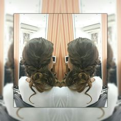 Preso simples #cabelos #hair #hairstyle #penteado #redken #salãodebeleza