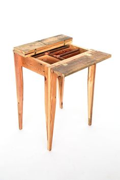 Floorboard table by Ray G.  Brown