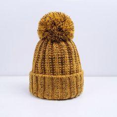 962d9280b9f Fashion Women Winter Hat For Women Skullies Beanies Warm Knitted Hat Female  Cotton Winter Cap Brand Women Beanie Hat Wholesale