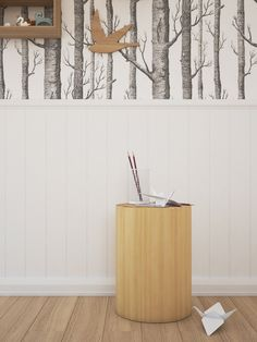 wood-endtable