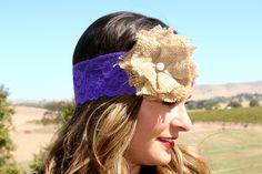 New York City Lace Headband $11.95 www.ruralhaze.com