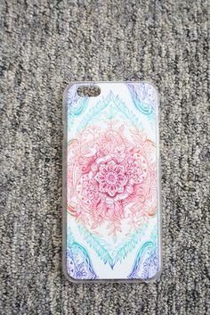 Rainbow *Mandala* iPhone Case.