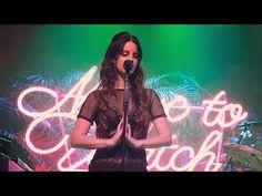 Watch Lana Del Rey perform 'Music To Watch Boys To' - LIVE FOR THE FIRST TIME - House of Blues San Diego, July 31, 2017 - YouTube