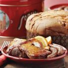 I love panettone & orange-flavoured liqueur. How can anything that pairs the 2 together be anything but divine? Panettone French Toast Recipe on Williams-Sonoma.com