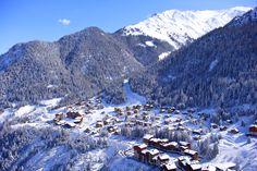Vue générale du village de Valfréjus