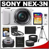 For Sale Sony Alpha NEX-3N Digital Digicam with 16-50mm Lens (White) with 32GB Card + Circumstance + Battery + Tripod + Tele/Extensive Lenses + three UV/CPL/ND8 Filters Kit Value - http://rudysuryanto.com/for-sale-sony-alpha-nex-3n-digital-digicam-with-16-50mm-lens-white-with-32gb-card-circumstance-battery-tripod-teleextensive-lenses-three-uvcplnd8-filters-kit-value.html