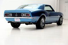 1968 Chevrolet Camaro SS L78 396/375hp 4spd - American Dream Machines