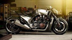 Yamaha V-Max Hyper Modified custom motorcycle
