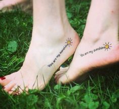 Matching You are my sunshine tattoo with my mom – Tattoos pictures – Tattoo ideas Sun Tattoos, Bild Tattoos, Couple Tattoos, Trendy Tattoos, Forearm Tattoos, Tatoos, Woman Tattoos, Dainty Tattoos, Mom Daughter Tattoos