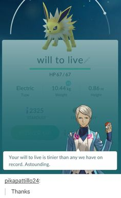 Pokemon Go Leader Feedback