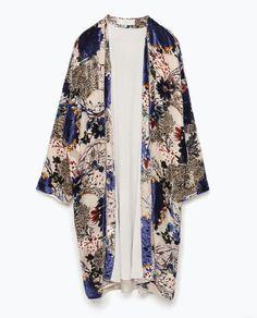 Devore Kimono Jacket...