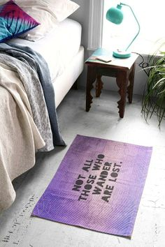 Leah Flores For DENY Those Who Wander Rug #urbanoutfitters