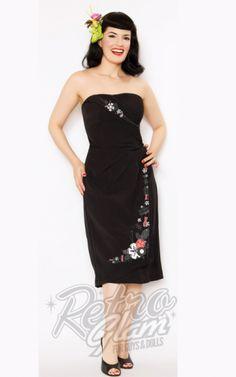 Retro Glam - Steady Atomic Tiki Dress