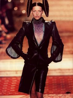 Alexander McQueen for Givenchy F/W 1997.