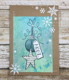 PaperArtsy: NEW PA Winter Stamps {JoFY Collection}; Sept 2017 #paperartsy #jofycollection #christmascard