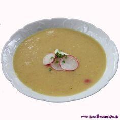 Radieschensuppe Radieschensuppe vegetarisch, schnell gemacht und lecker vegetarisch