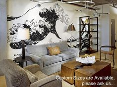 It would depend on the space, but I do love this huge wall decal!