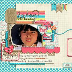 It's a Good Day-It's a Good Day! Any day we get to see the grandchildren is a good day!! I used It's a GOOD day from JB STudio and Amanda Yi found here:  http://store.gingerscraps.net/It-s-a-Good-Day-Collab-by-JB-Studio-and-Amanda-Yi-Designs.html and a template from Aprilisa's Picture Perfect 69 pack found here: http://store.gingerscraps.net/Picture-Perfect-69.html