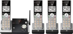 ATT DECT 6.0 Cordless Phone With Digital Answering System, CL82415, 4 Handsets Phone 4, Walkie Talkie, Coding, Digital, Accessories, Programming, Ornament