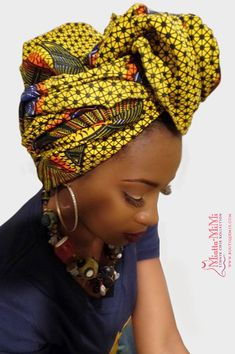 Gifts African clothing African fabric African head by BoutiqueMix