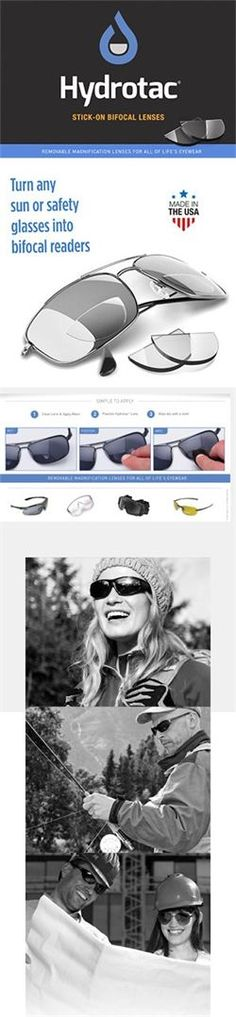 8bec575afea HydroTac® Lenses - Home. Boomers In The Know · Bifocal Sunglasses
