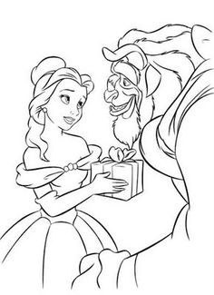 DISNEY COLORING PAGES @Lupe Sofeni