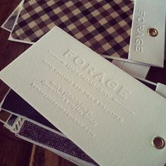 letterpressed fabric swatches via hidinginhere (Shauna) 's Instagram | Webstagram