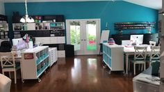 Craftroom/House Tour Live  in The Villages, FL 2017