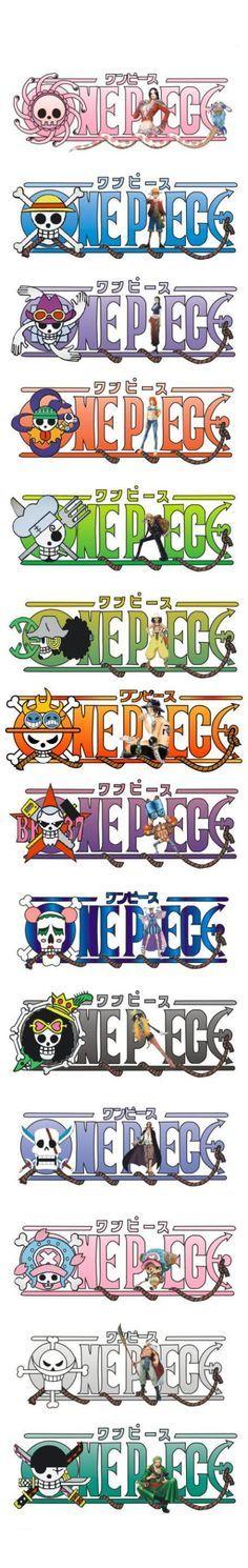 Logo de  ⛵️ l'Équipage ⛵️ de chaque Membres…  ~ ⚓️ One Piece ⚓️