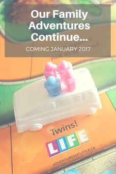 Unexpected and Fun Pregnancy Announcement for Twins Game of Life