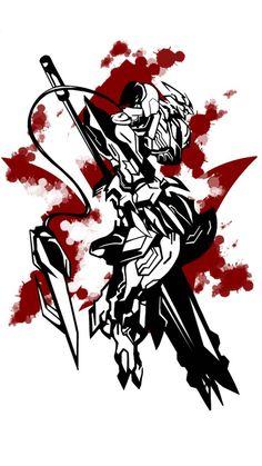 Barbatos Lupus Rex by Dadosgila on DeviantArt Mikazuki Augus, Jack Sparrow Tattoos, Barbatos Lupus Rex, Gundam Astray, Gundam Exia, Blood Orphans, Gundam Iron Blooded Orphans, Gundam Art, Gundam Toys