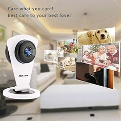 Holan 720P WiFi IP Security Camera Home Surveillance Camera(1280x720p Video Resolution,Night Vision)