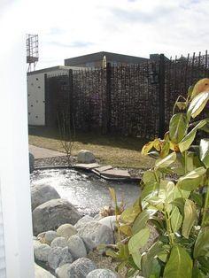 Rustikale Weidenwände Als Sichtschutz Und Gartendekoration By  JS Gartendeko, Via Flickr