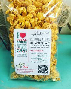 Pierce street market Ipop gourmet popcorn