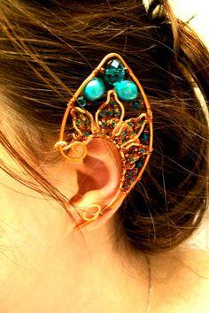 Wire Elf Ears Tutorial Search Results Calendar 2015 Ear Cuff Template