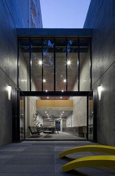 kameda house 靱公園 大阪 — Tadao Ando