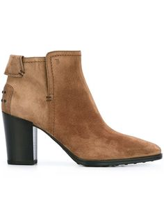 TOD'S Ankle Boots. #tods #shoes #boots