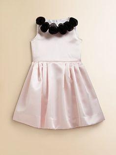 Lotusgrace Toddler's & Little Girl's Satin Party Dress