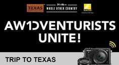 Nikon is giving you the chance to win an Awdventure to Texas and you can choose if you'd like to win a trip to the Big Bend area of Texas or South Padre Island. I …