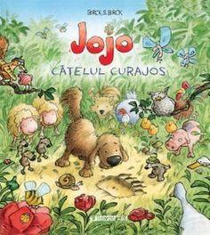 Beng Birck - Jojo catelusul curajos - Teddy Bear, Kids, Books, Movies, Shopping, Children's Literature, Character, Young Children, Boys