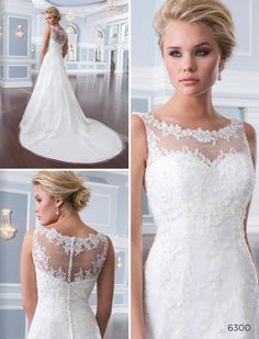 Lillian West wedding dress 6300 at Glamourous Gowns.